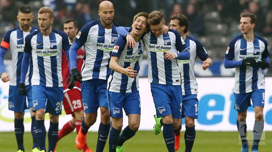 Hertha Berlin SC 1-0 Ingolstadt haraguchi goal