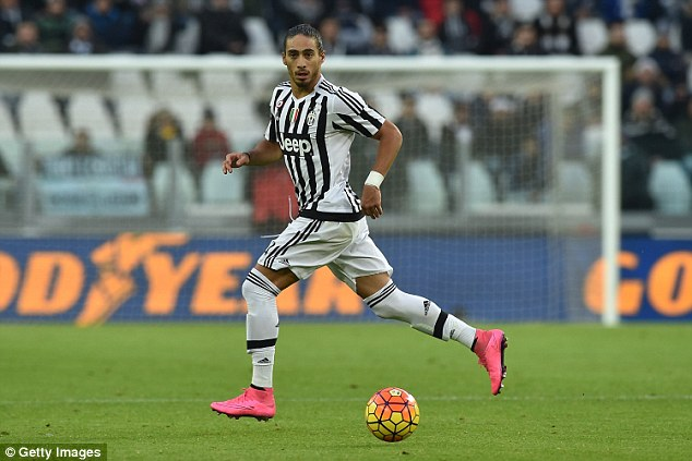 Caceres is expected to join Southampton following an injury to Virgil Van Dijk