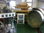 150404 (15)赤レンガ酒造工場_半切桶、蒸米放冷箱、蒸溜装置