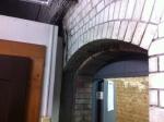 150404 (23)赤レンガ酒造工場_旧麹室のアーチ部分