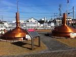 161221 (95)キリンビール名古屋工場_銅製の仕込釜 - コピー
