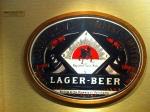161221 (80)キリンビール名古屋工場_ラガービールのラベル(明治21年) - コピー