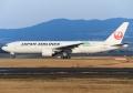 777-246/ER 【JAL/JA705J(航空機による大気観測プロジェクト CONTRAIL特別塗装)】①(20170206)