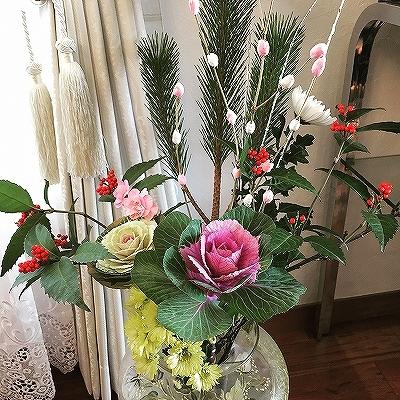 お正月 花