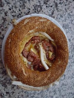 牛1800頭パン