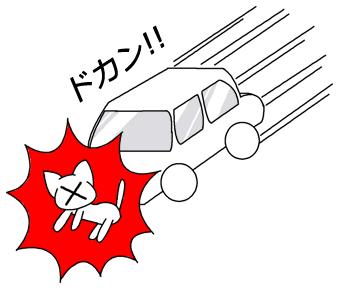 猫事故イラスト2