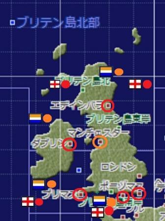 ダブリン大海戦 構築用地図(修正前)