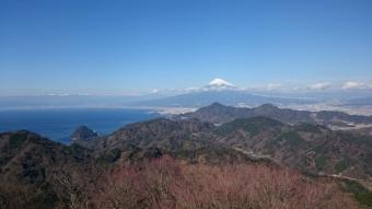葛城山山頂からの眺め