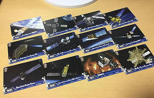 JAXA人工衛星トレーディングカード販売終了のお知らせ