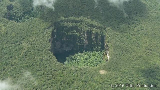 サリサリニャーマ巨大穴