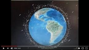 宇宙ゴミの最新データをGoogle Earthで可視化