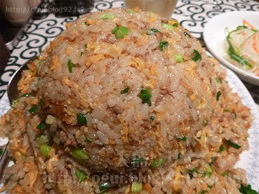 今週の飯定食挽肉ニラチャーハン034