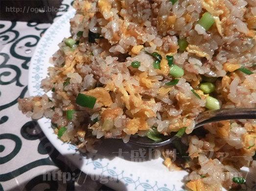 今週の飯定食挽肉ニラチャーハン035