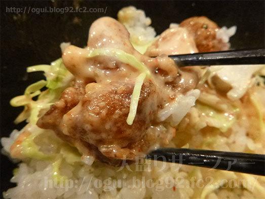 マヨ唐揚丼がおかわり自由038