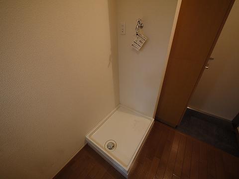 フラッツ・コーシン202洗濯機置場