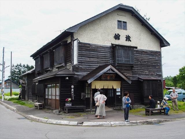 駅前にある「中村旅館」