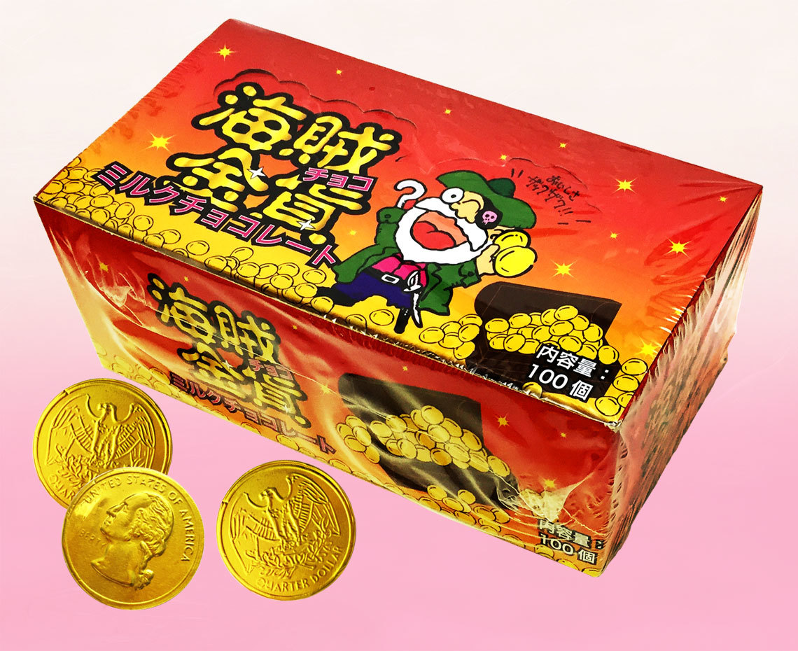 海賊金貨チョコ
