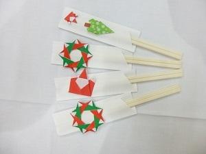 クリスマス会箸