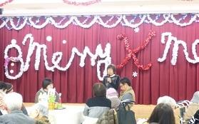 クリスマス会挨拶