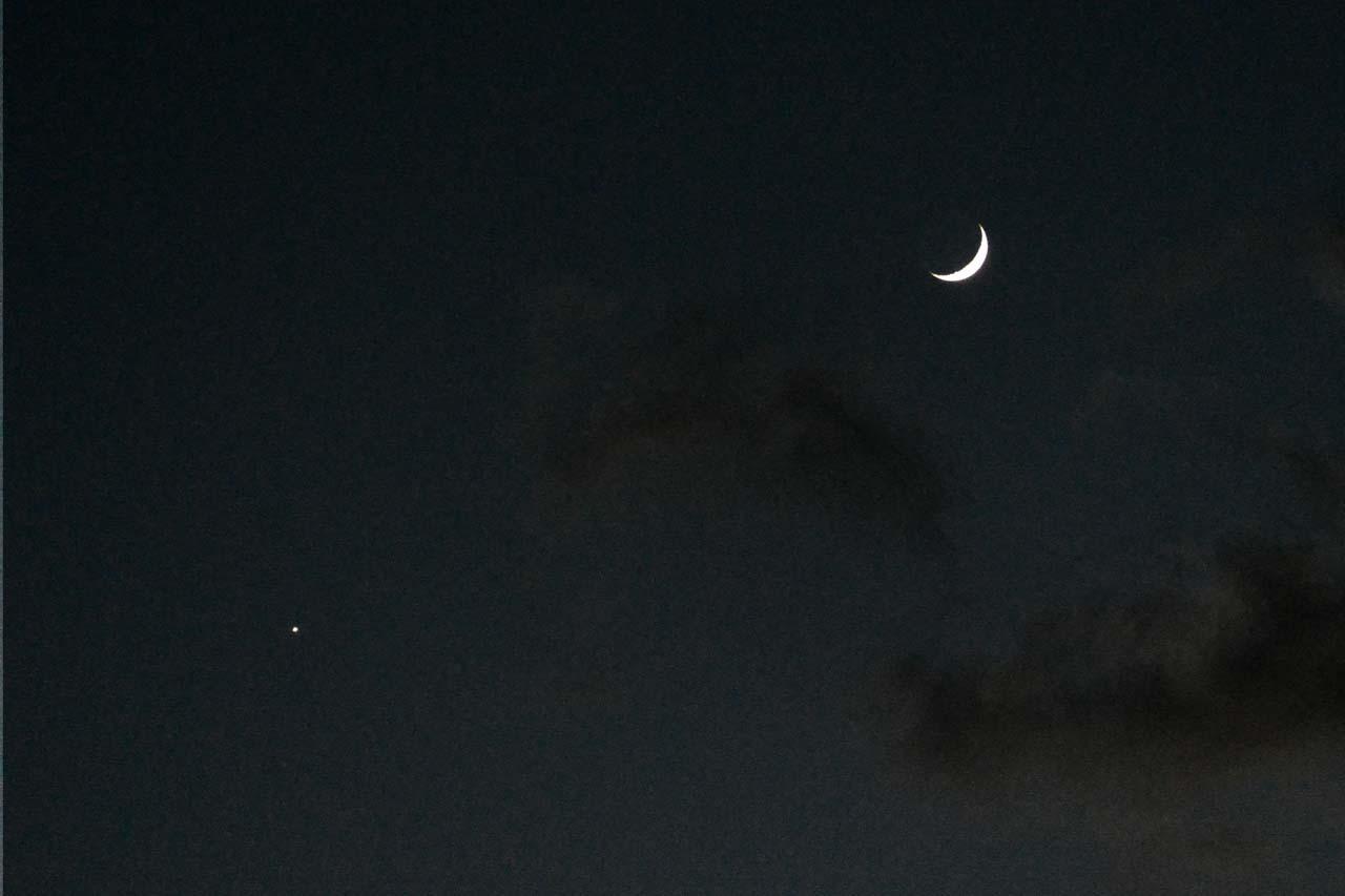 DSC_5357月と金星
