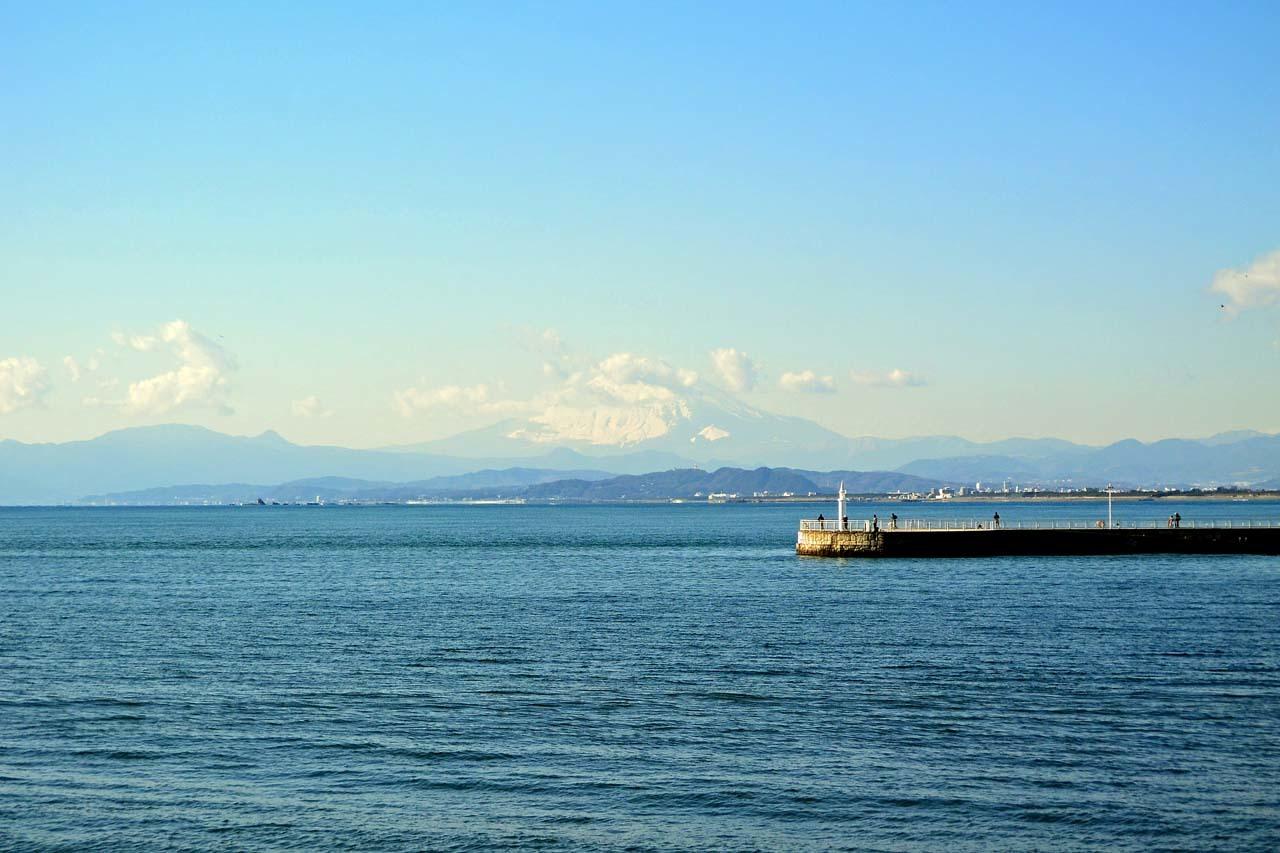 DSC_8607江の島からの富士山