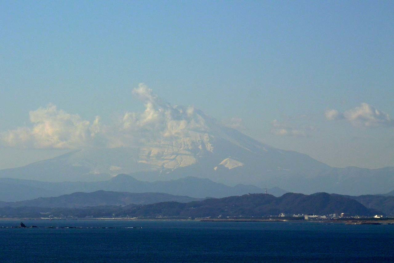 DSC_8652江の島からの富士山