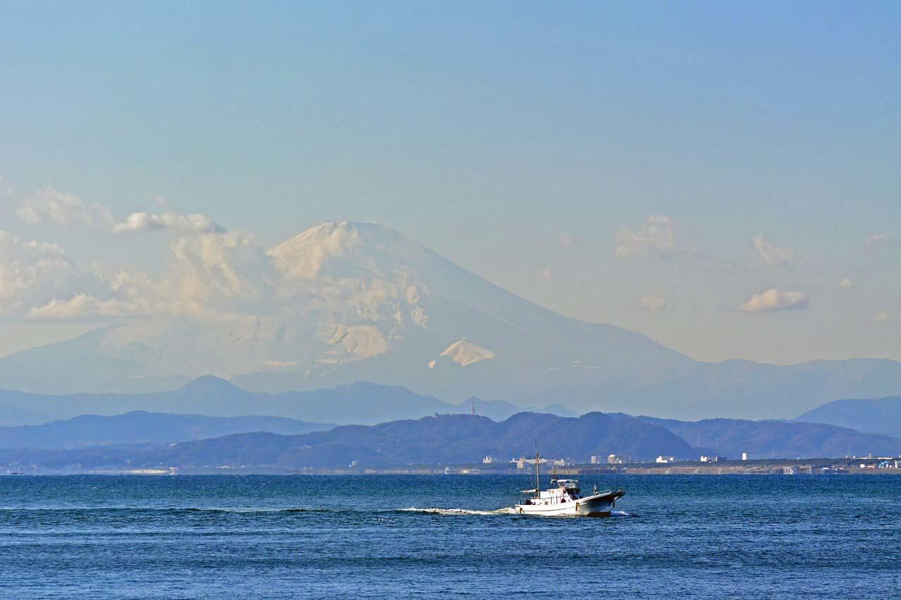 DSC_8722江の島からの富士山