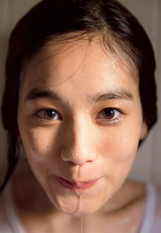 筧美和子 FLASHの写真集先行ノーブラHカップ爆乳 画像25枚 17