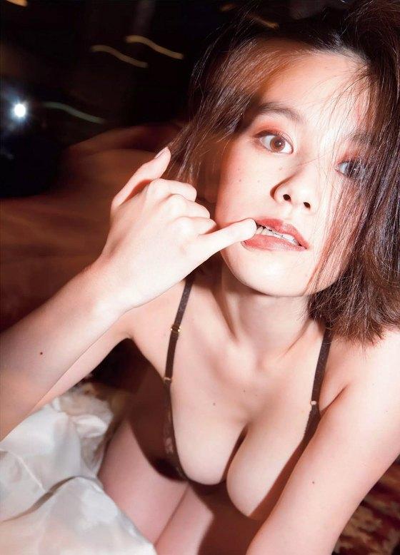 筧美和子 FLASHの写真集先行ノーブラHカップ爆乳 画像25枚 4