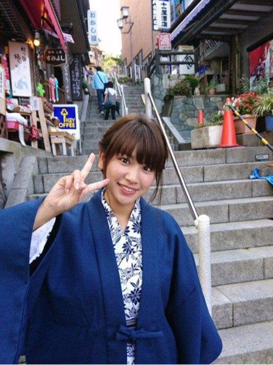 久松郁実 ヤンマガの温泉ビキニFカップ巨乳谷間 画像35枚 7