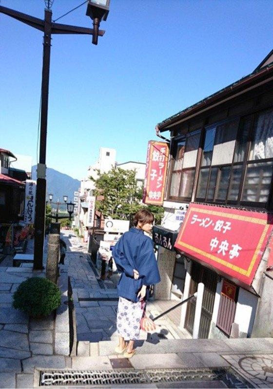 久松郁実 ヤンマガの温泉ビキニFカップ巨乳谷間 画像35枚 8