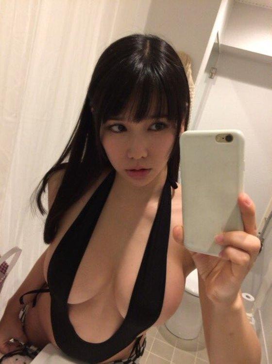 新垣優香 僕だけの彼女のHカップ爆乳ハミ乳キャプ 画像45枚 39