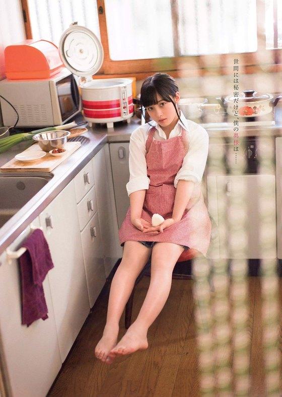 橋本環奈 ヤングマガジンの猫耳胸チラグラビア 画像30枚 11