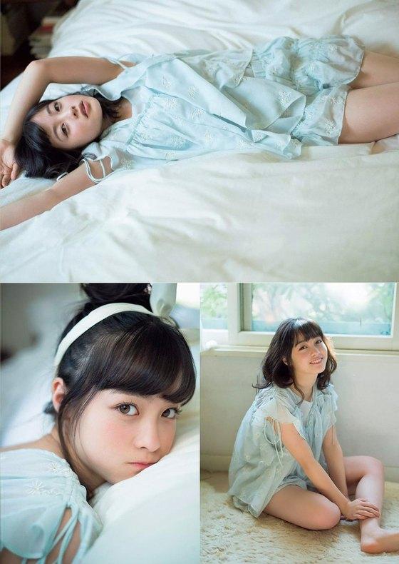 橋本環奈 ヤングマガジンの猫耳胸チラグラビア 画像30枚 25