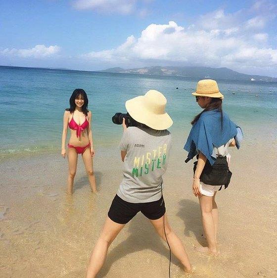 泉里香 ヤングジャンプの水着姿Gカップ初グラビア 画像25枚 13