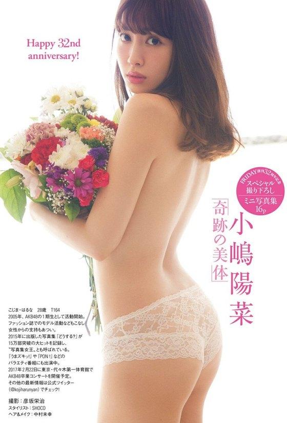 小嶋陽菜 フライデー写真集の下着姿Dカップ谷間グラビア 画像29枚 14