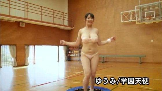ゆうみ DVD学園天使のHカップ垂れ乳爆乳キャプ 画像45枚 14