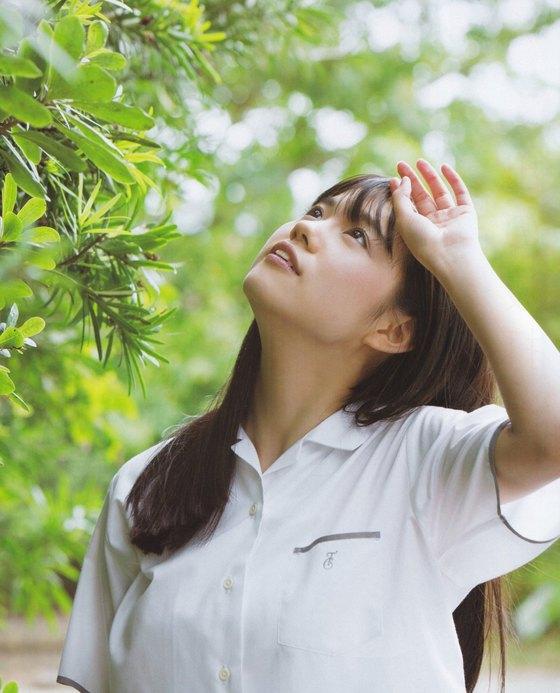 田中優香 ヤンマガの水着Gカップ爆乳ハミ乳グラビア 画像29枚 23