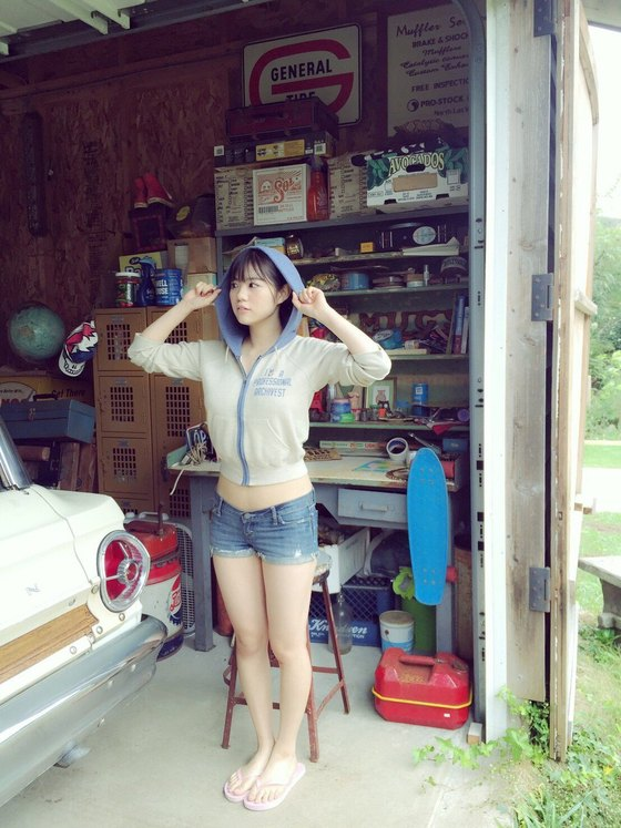 田中優香 ヤンマガの水着Gカップ爆乳ハミ乳グラビア 画像29枚 5
