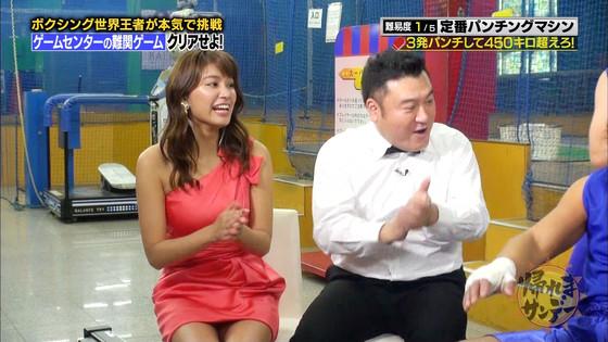 久松郁実 帰れまサンデーの黒パンチラキャプ 画像30枚 7
