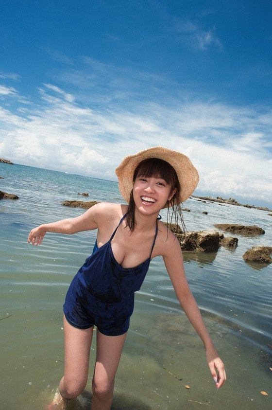 松本愛 週プレの水着姿Cカップ谷間&美尻食い込み 画像26枚 5