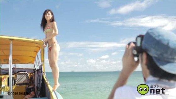 石川恋 週プレの下着&水着姿Dカップ谷間最新グラビア 画像30枚 12