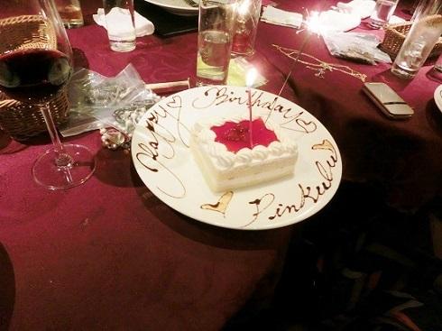 てぃんくるケーキ