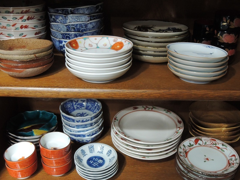 5客セットの食器
