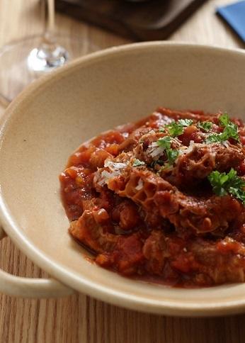 トリッパトマト煮2