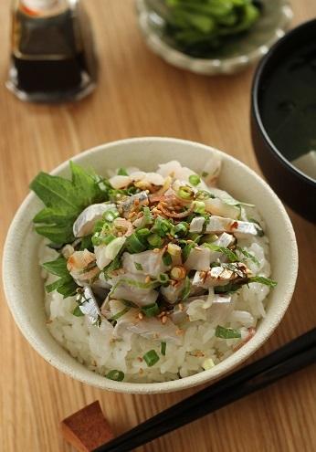 太刀魚タタキご飯1