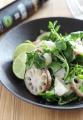 蓮根と里芋とカマンベールの温サラダ