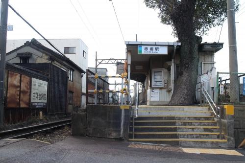 四日市あすなろう鉄道赤堀駅