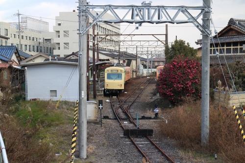 四日市あすなろう鉄道内部駅