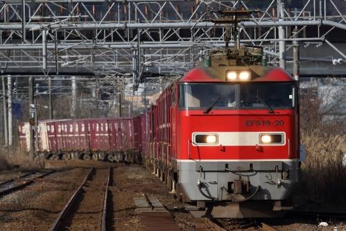 EF510-20・3093レ 来迎寺駅